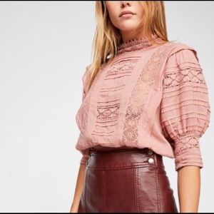 Free People High Neck Top Size M